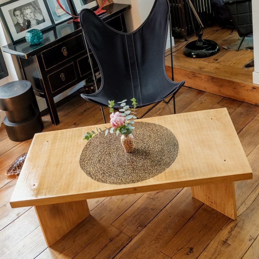 Table basse relookée_Format carré_Art4Design_ Arthur Simony