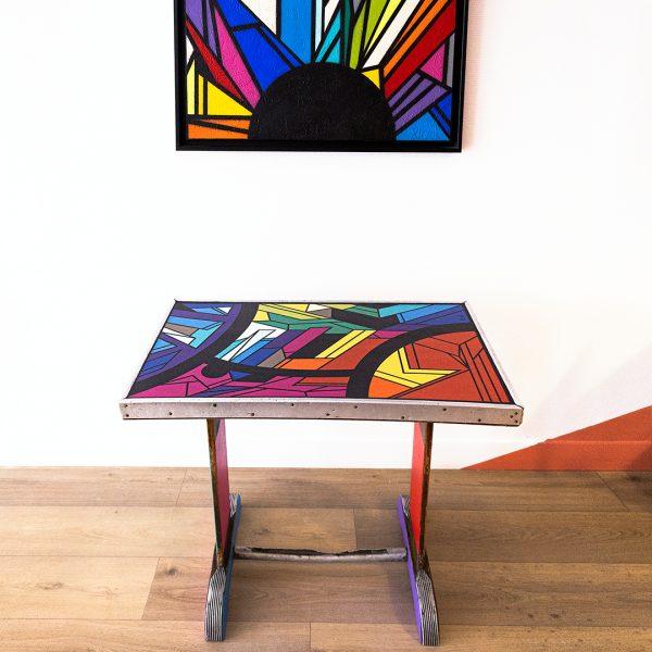 Table de bistrot personnalisée_Stoul_Art4Design