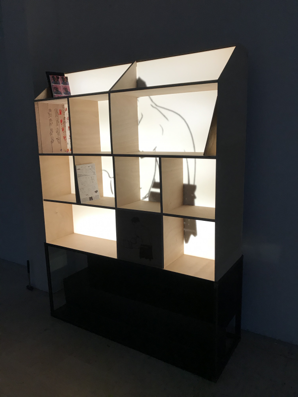 Bibliothèque lumineuse_Dans le noir_Art4Design_Cesar Audebert