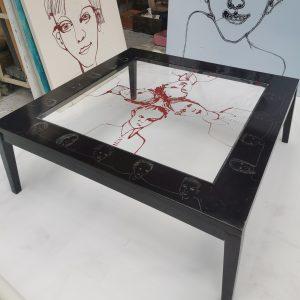 Table basse relookée_Zoom_Art4Design_Laurent Godard