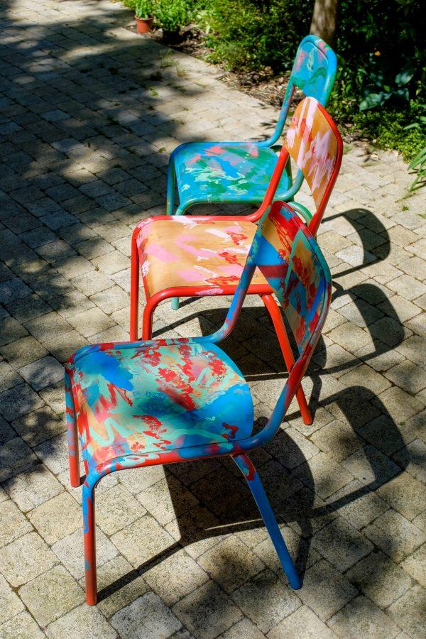 Chaises d'école_dehors_Art4Design_Yacine Ouelhadj