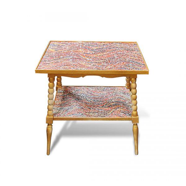 Table d'appoint relookée_Baykul Baris Yilmaz_Art4Design